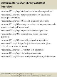 Resume For Library Assistant Job Zromtk Extraordinary Assistant Librarian Resume