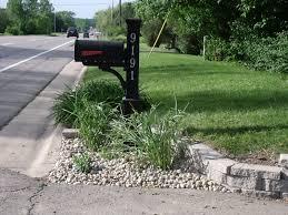 mailbox landscaping with culvert.  Culvert Mailbox Landscaping With Culvert We Shoveled The Stones Around To  A Depth Of 3 With Mailbox Landscaping Culvert S