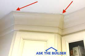 crown molding gap ceiling