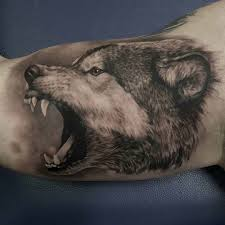 Wolf Arm Tattoo Best Tattoo Ideas Gallery