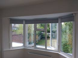 Blinds Around A Bay Windowu2026the Perfect Example At Curtains Roller Blinds Bay Window