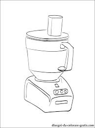 Disegno Di Robot Da Cucina Da Colorare Disegni Da Colorare Gratis