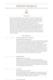 Kitchen Manager Resume Samples Visualcv Resume Samples Kitchen