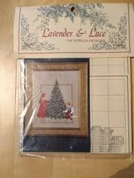 Lavender Lace Oh Christmas Tree Cross Stitch Chart
