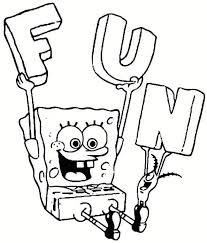 Spongebob Coloring Pages Kids N Fun 39 Coloring Pages Of Spongebob