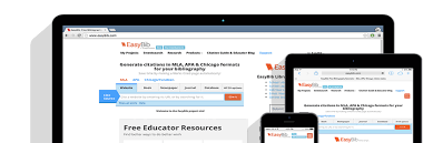 easybib importance in the academic sphere for creating citation easybib provide services to wide range of clients pertaining to create citations in an automatic manner you can easily create citation of your sources by