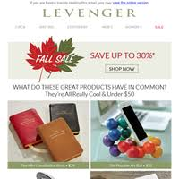 Levenger Templates Circa Newsletters Email Campaigns Marketing Emails Email