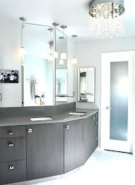 bathroom crystal chandelier marvellous inspiration ideas small chandeliers for bathrooms minimalist large powder room feats with