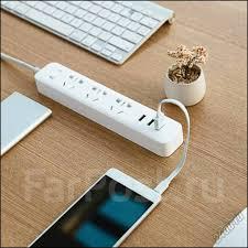 <b>Сетевой фильтр удлинитель Xiaomi Mi</b> Power Strip! 3+3USB! iStore