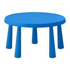 MAMMUT children's table, indoor/outdoor blue