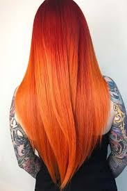Orange Hair Colour Chart 24 Seductive Shades Of Red Hair For Any Complexion And Eye