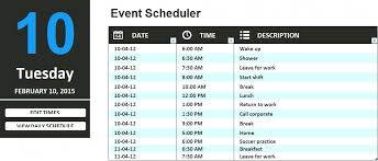 work scheduler excel daily schedule template excel daily work schedule template daily
