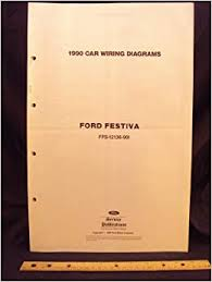 1990 ford festiva electrical wiring diagrams schematics ford 1990 ford festiva electrical wiring diagrams schematics ford motor company amazon com books