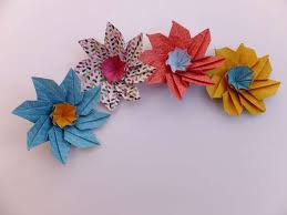 How To Make Origami Paper Flower Simple Origami Flower Basket Origami Paper Folding Into Pots