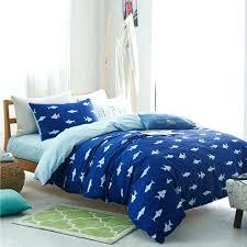 shark bedding set whole white shark cartoon bedding set for king or queen size blue duvet shark bedding