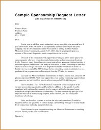 Letter Of Sponsorship Sample Letter Sponsorship Complete Guide Example 24