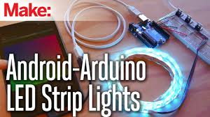 Arduino Led Light Projects Weekend Projects Android Arduino Led Strip Lights