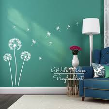 dandelion wall sticker fabulous dandelion wall decal