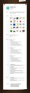 Free Resume Cv Web Templates Resume CV PSD Template Download Download PSD 65