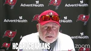 Bruce Arians on 2020 Bucs 'You Have Everything That You Need Here' | Press  Conference - YouTube