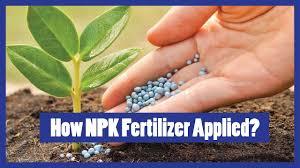 How To Apply Npk Fertilizer To Plants 2016 Urdu Hindi English Subtitles
