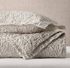10 Best Matelassé Coverlets and Bedspreads in 2018 - Chic ... & restorationhardware botanical matelasse washed cotton coverlet Adamdwight.com