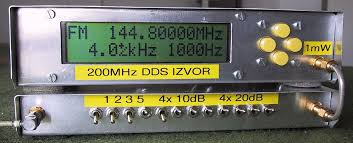 practical experiments have shown that the overall shielding of the dds generator and attenuator is sufficient for testing vhf communication receivers