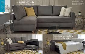 small corner furniture. grey fabric tromso corner sofa bed for small spaces in modern room setting furniture k