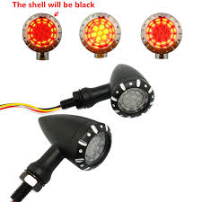 Bullet Led Lights Bullet Led Brake Running Turn Signal Tail Light Black