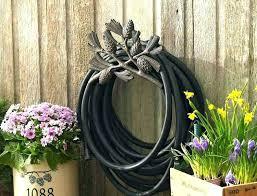 outdoor faucet extender garden hose best of outdoor faucet extension for decorative garden hose holder wall