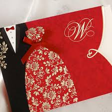 special wedding invitations cards folded with red bridal and groom Discount Blank Wedding Invitations special wedding invitations cards folded with red bridal and groom dress pattern elegant chinese party cards cw1051 offered wedding invitation printers cheap blank wedding invitations