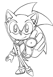 Small Picture Free Printable Sonic The Hedgehog Coloring Pages For Kids