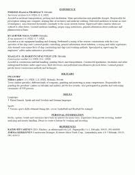 Military Resume Examples For Civilian. Military Resume Builder