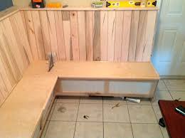 how to build a breakfast nook bench with storage breakfast nook bench plans es how to build a breakfast nook storage bench