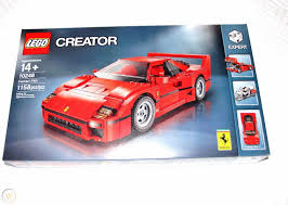 Buy the latest sets and discover your favorite themes! Lego Creator Expert Ferrari F40 10248 Sport Car New Sealed 1901203019