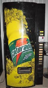 Gatorade Vending Machine Commercial Delectable Dixie Narco Gatorade Vending Machine Turns On