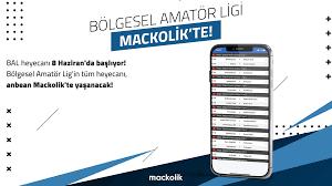 Mackolik - 🚨 Bölgesel Amatör Lig heyecanı Mackolik'te! 🚨...