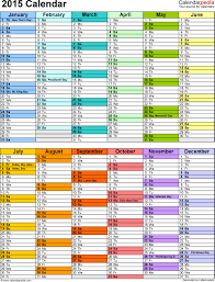 Yearly Event Calendar Template Yearly Event Calendar Template 2015 Calendar Portrait Color 2 Epllix