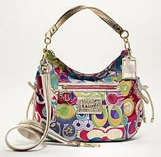 BlogGang.com     OVip - Cheap Coach Poppy Pop C Jazzy Hobo Shoulder Bag  Purse 15296 Multi