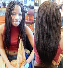 Layered Braids Hairstyles Cool The Types Of Box Braid Hairstyles To Try Hairstyles