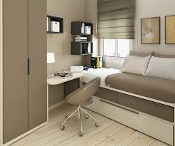 ... Bedroom Design Ideas For Small Spaces With Chair Frame Brown Wardoobe  Book Table Lamp Modern Decorating ...