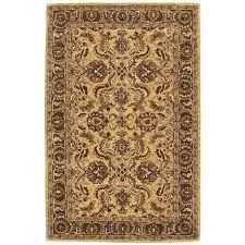nourison india house gold indoor handcrafted area rug common 3 x 4 actual