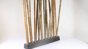 bamboo room divider dex  tuinmeubelnl  youtube