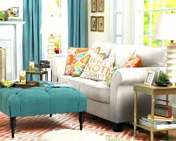 how to use ottoman as coffee table tufted ottoman living room ottomans used as coffee tables