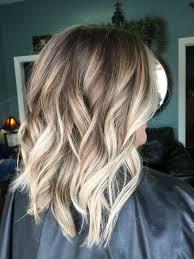 Balayage Blonde Hair Brown Hair Blonde