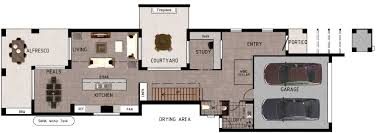 ingenious ideas small lot house designs australia 10 narrow floor plans on modern decor