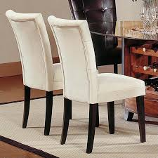 steve silver pany matinee fabric parson dining chair in upholstered parsons dining room