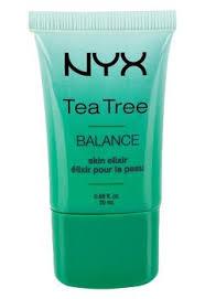 nyx cosmetics skin elixer balance tea tree primer