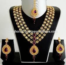 designer kundan jewelry set whole kundan jewellery set imitation indian kundan bridal jewellery