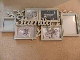 family multi photo frame